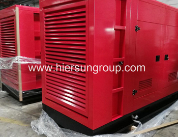 Vietnam Client Repeat Order of Cummins Standby Generator Sets 4 x 300KW