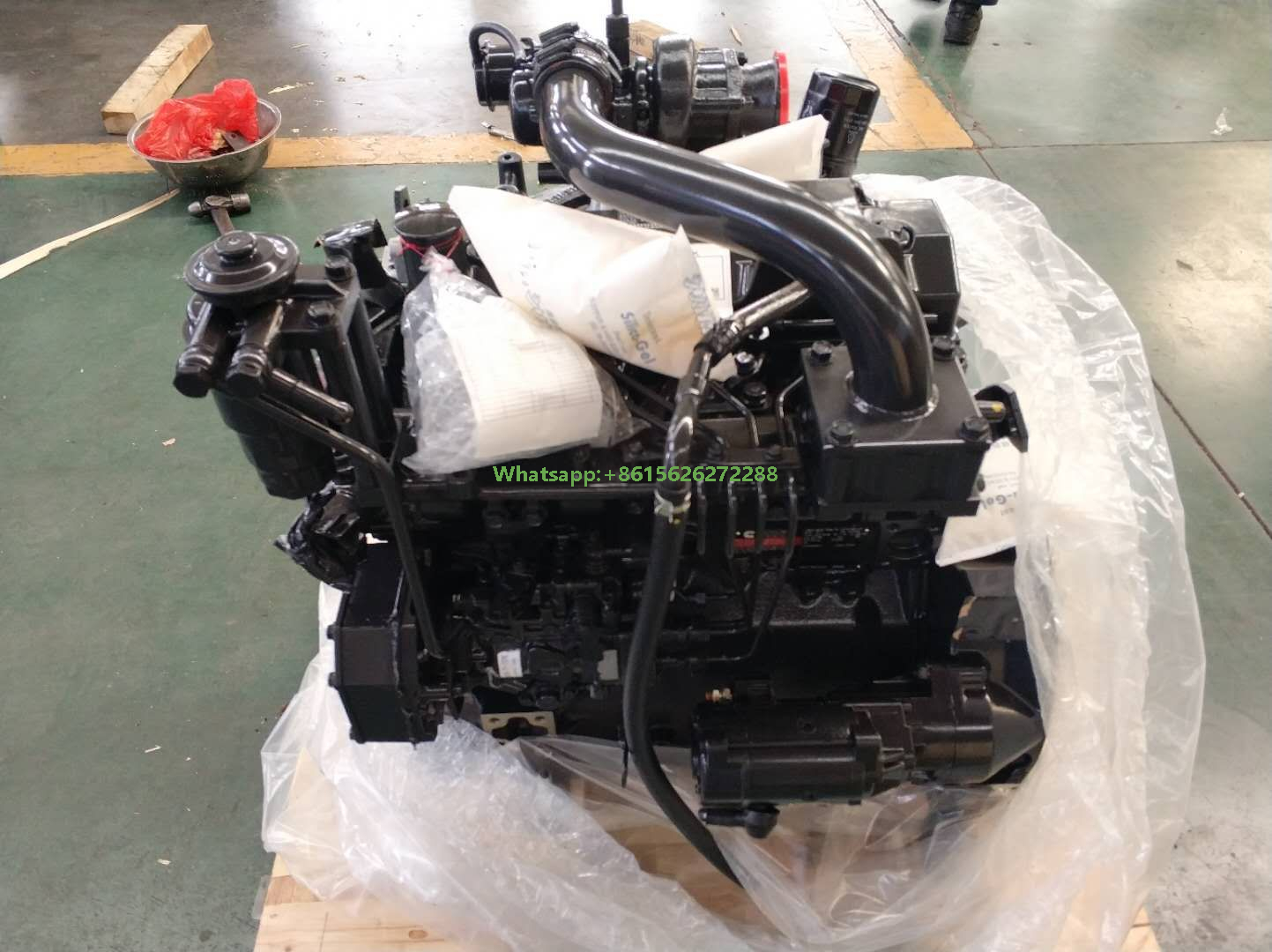 Cummins Industrial Engine B3.3-65 65HP 48KW 2600RPM